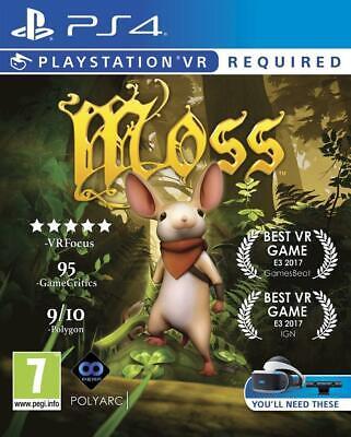Moss / Ps4 ( Psvr Obbligatorio) Nuovo in Blister