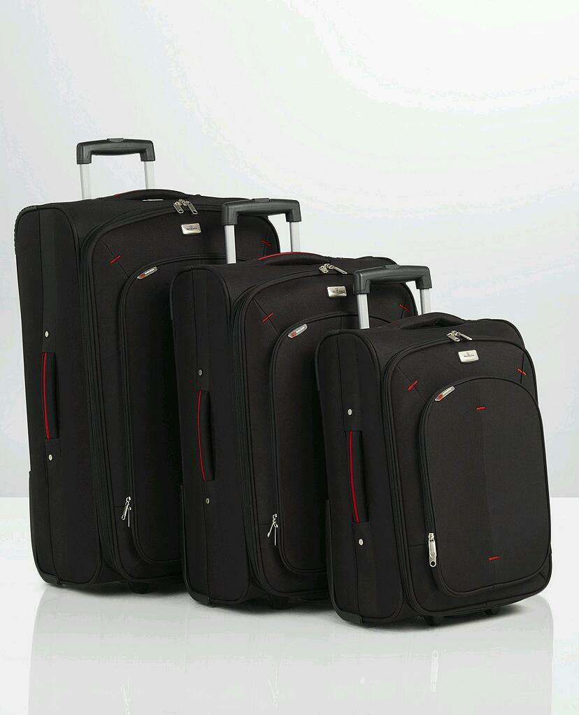 3 piece valaguzza delsey luggage set suit case in kettering northamptonshire gumtree. Black Bedroom Furniture Sets. Home Design Ideas