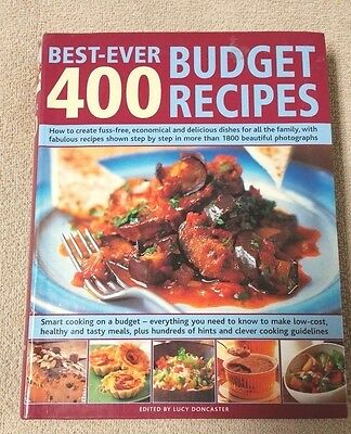 400 BEST-EVER BUDGET RECIPES Cookbook LUCY DONCASTER Hermes House (Best American Recipes Ever)