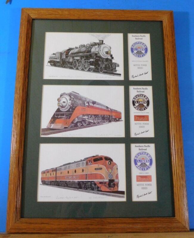 Railroad Art by Michael Scott Kent Southern Pacific Motive Power Series 3 prints