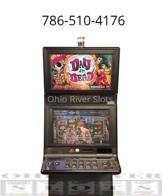 IGT G20 Day of the Dead Slot Machine (Ticket Printer, COINLESS)