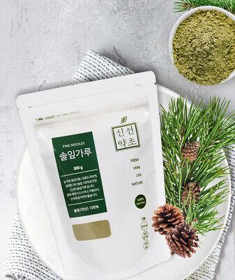 FRESH HERB Organic Pine Needle Powder 300g 100% Natural Medicinal Korean Herbal