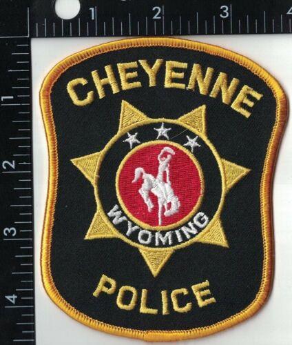 Cheyenne Police Patch Wyoming WY