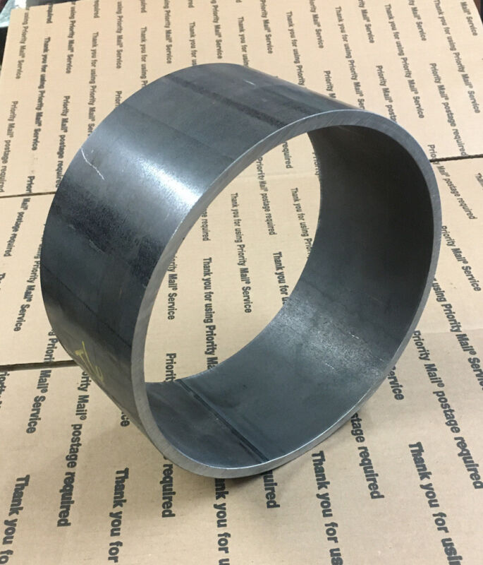 """8"""" Inch Pipe Sch 40 4"""" Long Stove Welding Steel Collar Ring 5/16"""" Wall"""