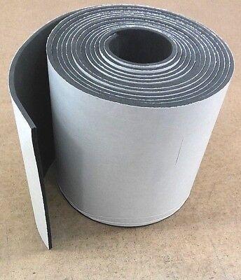 Neoprene Sponge Rubber Sheet W Peel-back Adhesive 18thk X 12 X 12 Sq Foot