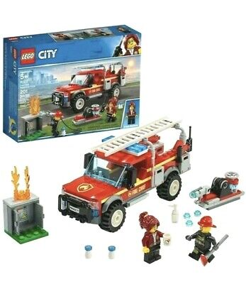LEGO City Fire Chief Response Truck 60231 Building Set Firetruck Ladder 201 pcs