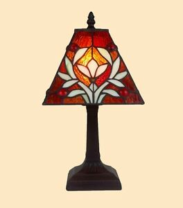 small tiffany lamp ebay. Black Bedroom Furniture Sets. Home Design Ideas