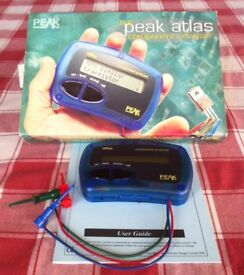 THE PEAK ATLAS COMPONENT ANALYSER DCA55 - nice bargain