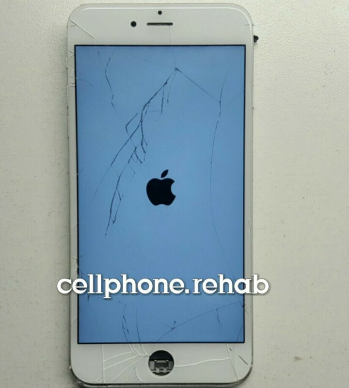 Apple Iphone 6s Plus Cracked Broken Screen Phone Repair Service Glass Only