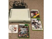 Microsoft Xbox 360 20GB White Console (PAL) Bundle