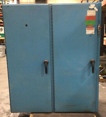 61x72x18 2 Door Electrical Enclosure Hoffman A-72x6118lp With Cooler 5365taw