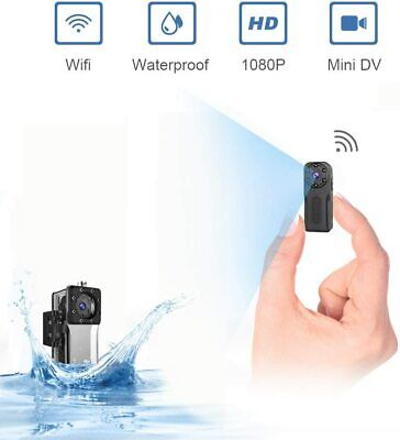 Wireless Wifi Waterproof Spy Hidden Nanny Security Camera w/ Night Vision Motion