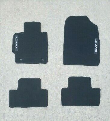 2007 - 2012 Mazda CX-7 OEM Carpeted Floor Mats *NEW* Set of 4 ( 0000-8B-M09 )