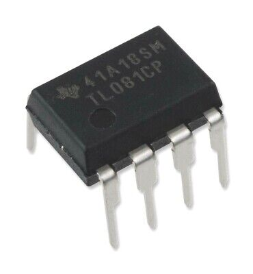 5pcs Texas Instruments Tl081cp High Slew Rate Jfet-input Operational Amplifier