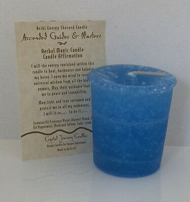 ASCENDED MASTERS REIKI candles Crystal Journey CANDLES MAGICK Wicca Pagan votive