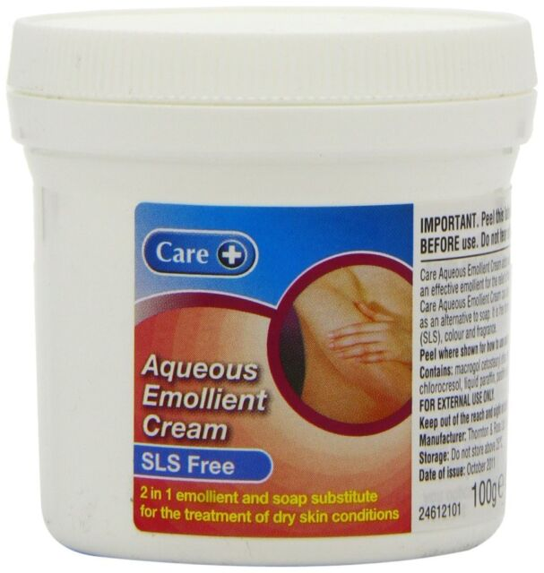 Care Aqueous Emollient SLS Free Cream 100g