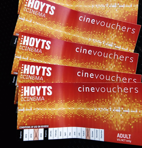 Hoyts movie vouchers x 4 adult Fitzroy North Yarra Area Preview