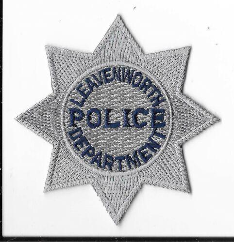 Leavenworth Police Department, Kansas Breast Patch V1
