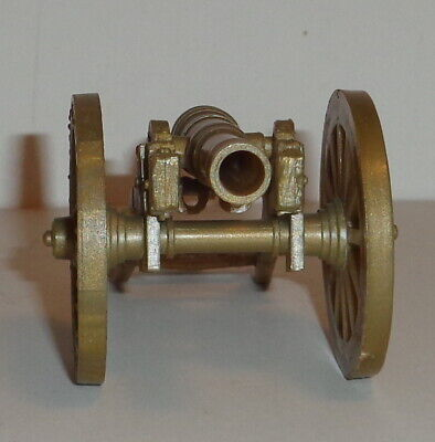 MARX  REVOLUTIONARY WAR HERITAGE  SONS OF LIBERTY  NON - FIRING  GOLD CANNON