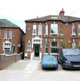 A newly painted split level two bedroom flat situated on a sought-after road in West Hampstead.