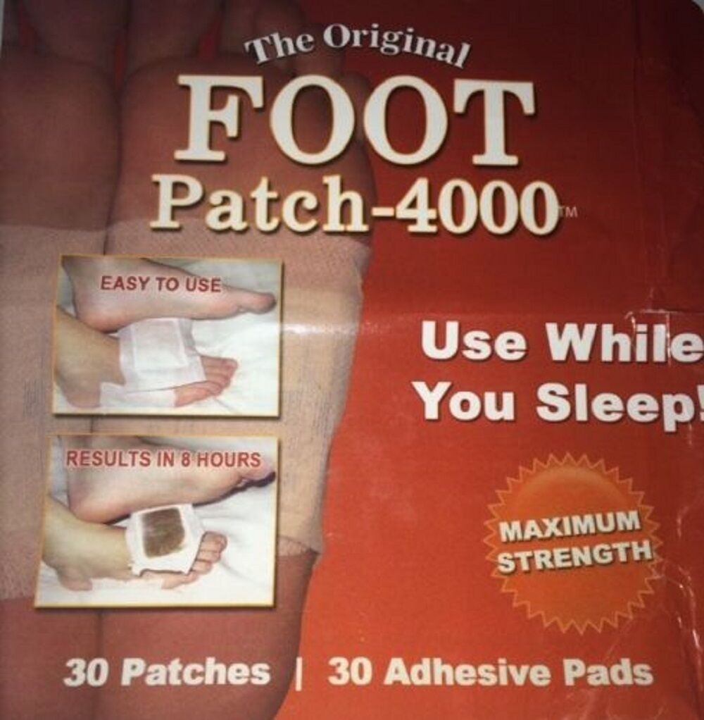 Maritzmayer Detox Foot Patch 30ct Natural Herbal Pad Whol...