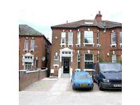 Modern split level two bedroom flat in West Hampstead