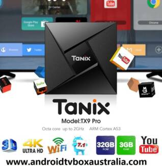 Dec 2017 NEW TX9 Pro 3/32gb 4K kodi media TV Box S912 Android 7.1