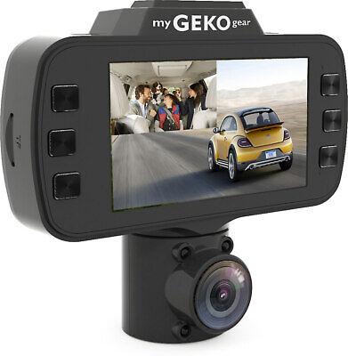 myGEKOgear D108016G OwlScout Dual Dash Camera