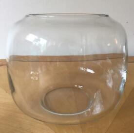 Villeroy & boch large round glass bowl (fish bowl)
