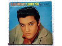 "Elvis Loving You UK 10"" and 12"" version"
