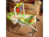 Fisher Price Wonder World 2 in 1 Swing Seat used VGC