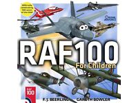 RAF 100 Book For Children, Signed by The Author.