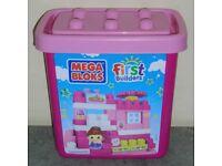 Mega Bloks First Builders 'Lil House' Set