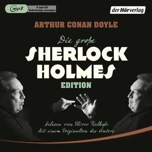 Arthur Conan Doyle - Sherlock-Holmes-Edition - MP3-CD NEU OVP