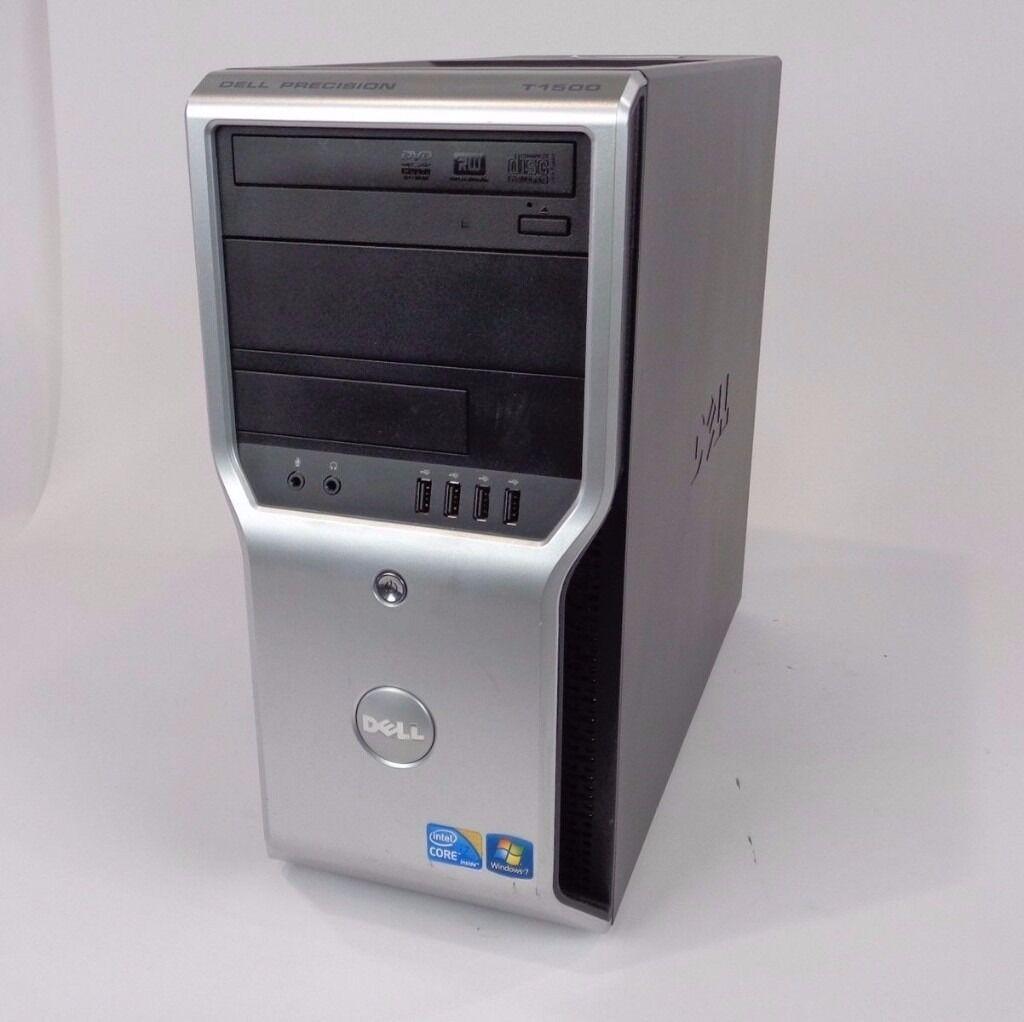 Desktop Gaming PC , 8 GB RAM Intel i5 + 2 x DELL 20