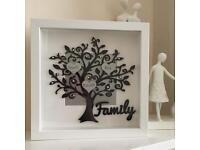 Family Tree Photoframe Box Frames £15