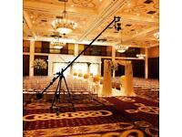 EXPERIENCED Camera Crane Jib Operator for weddings freelance photography cinematography