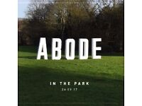 1 ABODE in the Park ticket for sale! £40