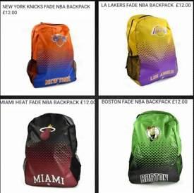 NBA backpacks