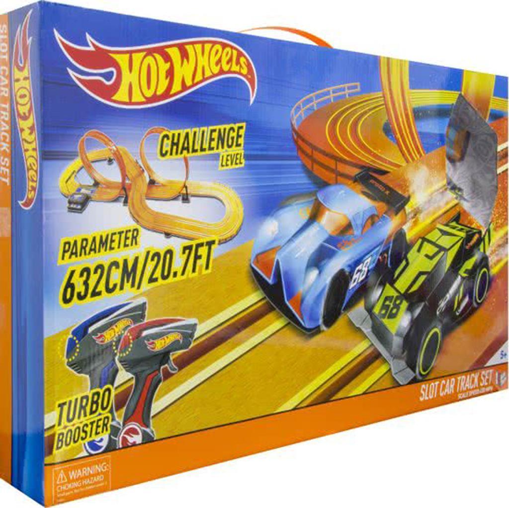 inkl.2 Autos Zabawki Hot Wheels Slot Car Track Set 6,32 Meter länge 83129 Auto Rennbahn Tory wyścigowe dla dzieci