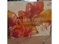 Hairdressing Wella color touch Colour Chart 2016!!!