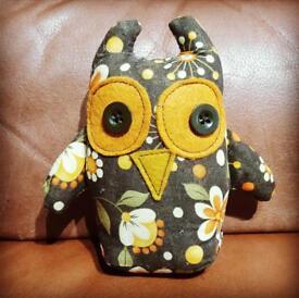 Vintage handmade owl