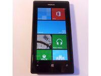 Nokia Lumia 520 - 8GB - Black (Vodaphone Network) Smartphone Mobile