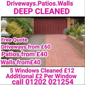 Window cleaning and jet washing