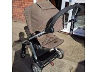 Mamas & Papas Sola2 Travel System + Urbo2 hood/foot muff, great condition!