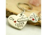 Keyring for Couple's / Chain Pendants NEW