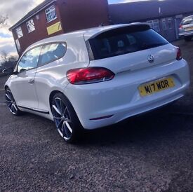 Volkswagen Scirocco 1.4 TSI ( 160ps ) 2009 LOWERED ON H&R 1 PREVIOUS OWNER