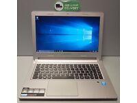 "Lenovo M30-70 Laptop 13.3"" Intel Core i3-4030U Ram 4GB 500GB WebCam HDMI W10 Pro ultrabook"