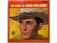 Hank Williams vinyl Albums