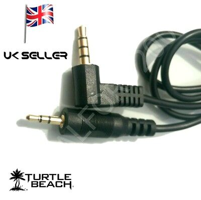 Chat/audio Cable lead for use on Turtle Beach Gaming Headsets to playstation...